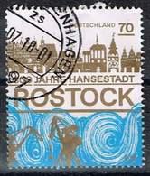 Bund 2018, Michel# 3395 O 800 Jahre Hansestadt Rostock - [7] Federal Republic
