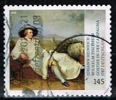 Bund 2018, Michel# 3397 O Schätze Aus Dt. Museen: Goethe In Der Campagne Selbsklebend - [7] Federal Republic