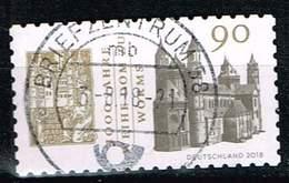Bund 2018, Michel# 3398  O 1000 Jahre Weihe Dom Zu Worms Selbstklebend Aus MH - BRD