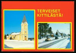 AK Finnland | Kittilästä, Kirche, Winter Impressionen - Finland