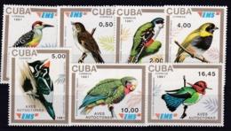 CUBA   :   Oiseaux   3133 à 3139   Neufs XX Cote 160 € - Birds