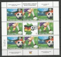 BOSNIA - HERCEGOVINE - MNH - Sport - Soccer - World Cup 2006 - Coupe Du Monde