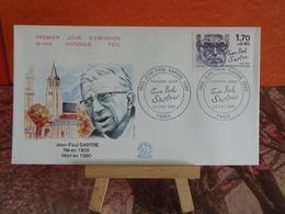 Jean Paul Sarthe - Paris - 23.2.1985 FDC 1er Jour N°1414 - Coté 4,50€ - FDC