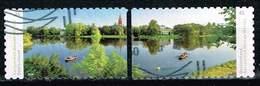 Bund 2018, Michel# 3405 O Dessau-Wörlitz Garden, Selbstklebend - [7] Federal Republic