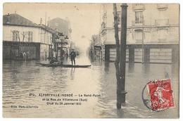 Inondations à Alfortville  (94) - Inondations