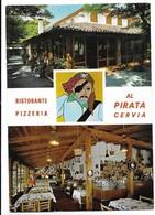 """Cervia (Ravenna). Ristorante Pizzeria """"Al Pirata"""". Posacenere Pubblicitario Birra Wuhrer. - Ravenna"""