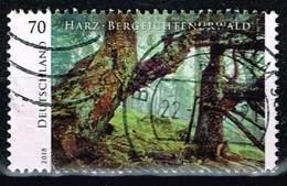 Bund 2018, Michel# 3410 O Serie Wildes Deutschland: Harz - Bergfichtenurwald - BRD