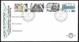 1996 - NEDERLAND - FDC + SG 1814/1817 + DEN HAAG - FDC