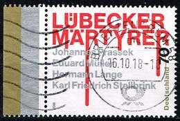 Bund 2018, Michel# 3417 O Lübecker Märtyrer - [7] Federal Republic