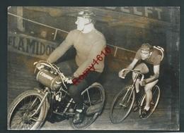 Cyclisme. Paris. La Renaissance Du Bol D'Or. Voici Le Futur Vainqueur Fiorenzo Magni. Photo. 2 Scans - Cyclisme