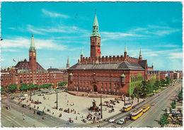 COPENHAGEN Radhuspladsen Posted 1966 (Kruger, 989/3) [P0112/1D] - Denmark