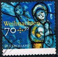 Bund 2018, Michel# 3422 O Weihnachten. Kirchenfenster, Selbstklebend - [7] Federal Republic