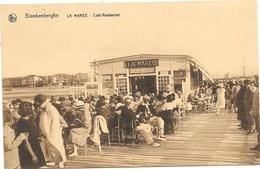 Blankenberge NA45: La Marée. Café-Restaurant 1929 - Blankenberge
