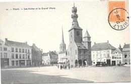 Thielt NA4: Les Halles Et La Grand'Place 1914 - Tielt
