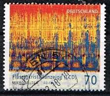 """Bund 2018, Michel# 3427 O Serie """"Mikrowelten"""": Flüssigkeitskristallanzeige - [7] Federal Republic"""