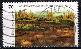 """Bund 2018, Michel# 3428 O Serie """"Wildes Deutschland"""": Schwarzwald – Hornisgrinde - [7] Federal Republic"""