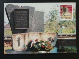 Carte Maximum Card Monument De La Déportation Luxembourg 1982 - Cartoline Maximum