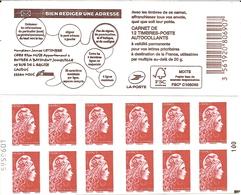 Carnet Yseult Yz   Bien Rédiger Une Adresse   Carré Noir + N° De Feuille - Usage Courant