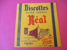 Buvard/Biscottes Super Aérées / REAL/C'est Un Vrai Régal / VAUREAL/ Vers 1940-1960         BUV382 - Zwieback