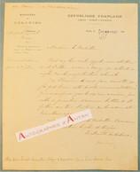 Lettre 1902 Albert DECRAIS Ministre Des Colonies - Me Grillon Avocat à Nancy - M. Serres - Bordeaux Mérignac L.A.S - Autographs