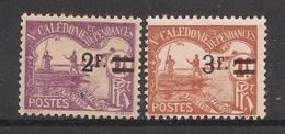 Nouvelle Calédonie - 1926-27 - Taxe TT N°Yv. 24 à 25 - Série Complète - Neuf Luxe ** / MNH / Postfrisch - Timbres-taxe