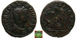 Roman Empire - AE Denarius Of Aurelian (270 - 275 AD), VICTORIA AVG - 5. L'Anarchie Militaire (235 à 284)