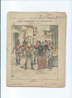 1898 Les Femmes De France Annette Drevon Guerre De 1870 Cahier Bien, Intérieur Passable 225 X 175 Mm 2 Scans - Protège-cahiers