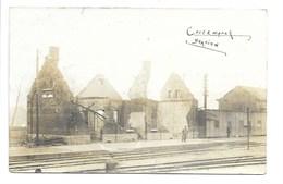 Kortemark - Station - Fotokaart. - Kortemark