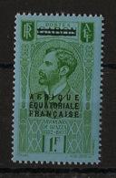 AEF - 1936 - N°Yv. 24 - Savorgnan 1f Vert - Neuf Luxe ** / MNH / Postfrisch - Nuovi