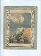 1900 Les Moyens De Locomotion Cahier Bien Complet Couverture Protège-cahier 225 X 175 Mm 3 Scans - Protège-cahiers