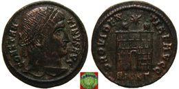 Roman Empire - Silvered AE Follis Of Constantine The Great (306 - 337 AD) PROVIDENTIAE AVGG - 7. L'Empire Chrétien (307 à 363)