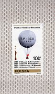 Ballon-Fahrt 1981 Polen Block 85 ** 1€ Heißluftballon Gordon Bennett Pokal Bloque Bloc S/s Mail Sheet Poland/Polska - Airships