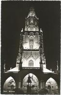 W1256 Bern - Munster - Nacht Night Nuit Noche Notte / Viaggiata 1955 - BE Berne