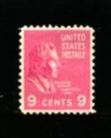 UNITED STATES/USA - 1938  9c  W.H. HARRISON  MINT - Stati Uniti