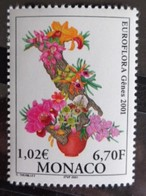 MONACO 2001 Y&T N° 2297 ** - EUROFLORA 2001, EXPOSITION FLORALE A GENES - Monaco