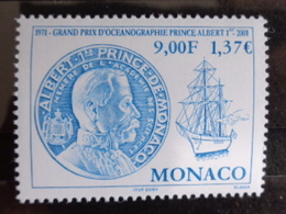MONACO 2001 Y&T N° 2307 ** - 30e ANNIV. DU GRAND PRIX D'OCEANOGRAPHIE PRINCE ALBERT I - Neufs