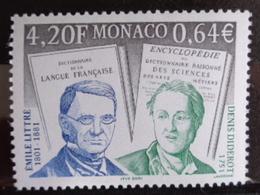 MONACO 2001 Y&T N° 2308 ** - BICENTENAIRE DE LA NAISSANCE DU PHILOSOPHE EMILE LITTRE - Monaco