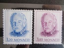 MONACO 1990 Y&T N° 1722 & 1723 ** - EFFIGIE DE S.A.S RAINIER III - Monaco