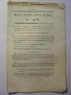 BULLETIN DES LOIS 1811 - OMBRONE ITALIE - PRUSSE DROIT D'AUBAINE ET DETRACTION - RELIGIEUSES OOSTEROUT HOLLANDE BETHUNE - Décrets & Lois