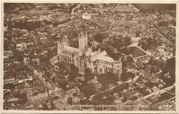 W1262 Canterbury Cathedral From The Air - Aerial View Vue Aerienne Vista Aerea / Viaggiata 1956 - Canterbury