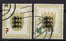 BRD 1955 // Mi. 212/213 O - BRD