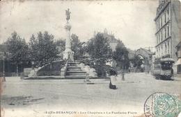 DOUBS - 25 - BESANCON - Les Chaprais La Fontaine Flore - Besancon