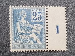 Mouchon N° 118 Neuf ** Gomme D'Origine à 16% De La Cote  TB - France