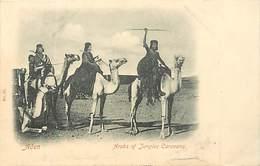 Pays Div- Ref R92- Yemen - Aden - Arabs Of Jungles Caravans - Chameaux - Chameau  - Carte Bon Etat - - Yémen