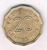 20  CENTESIMOS 1981  URUGUAY/1532/ - Uruguay