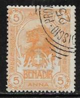 Somalia, Scott # 6 Used Lion, 1903, CV$67.50 - Somalia