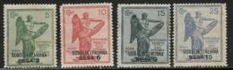 "Somalia Scott # 28-31 Mint Hinged Italy ""Victory"" Issue, Surcharged, 1922 - Somalia"