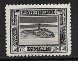 Somalia Scott # 140 Mint Hinged Lighthouse,1932, CV$21.00 - Somalia