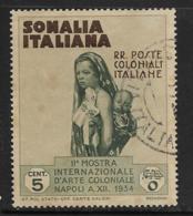 Somalia Scott # 164 Used Mother And Child, 1934 - Somalia