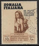 Somalia Scott # 165 Used Mother And Child, 1934 - Somalia